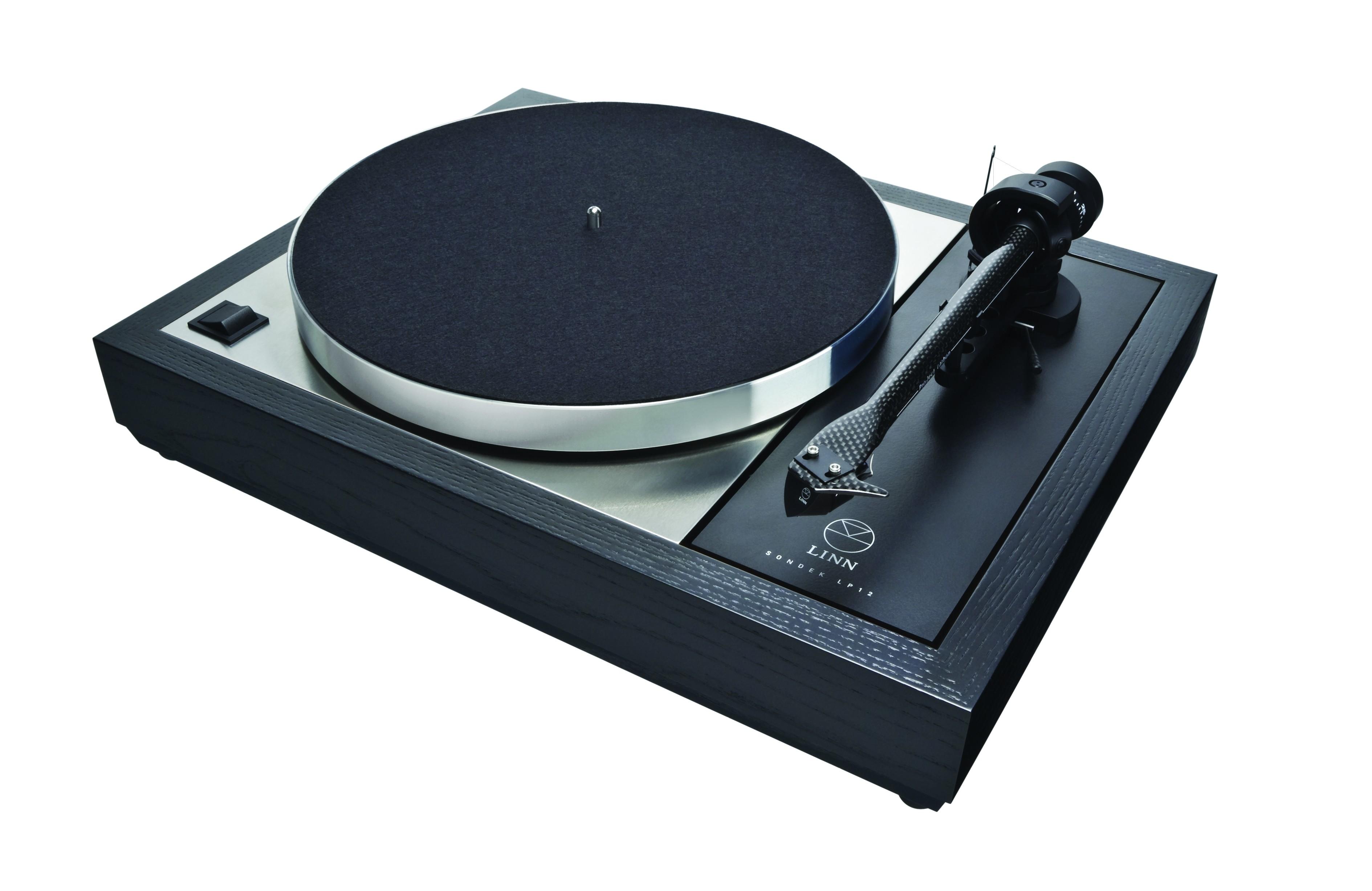 LP 12 Sondek Laufwerk  schwarz
