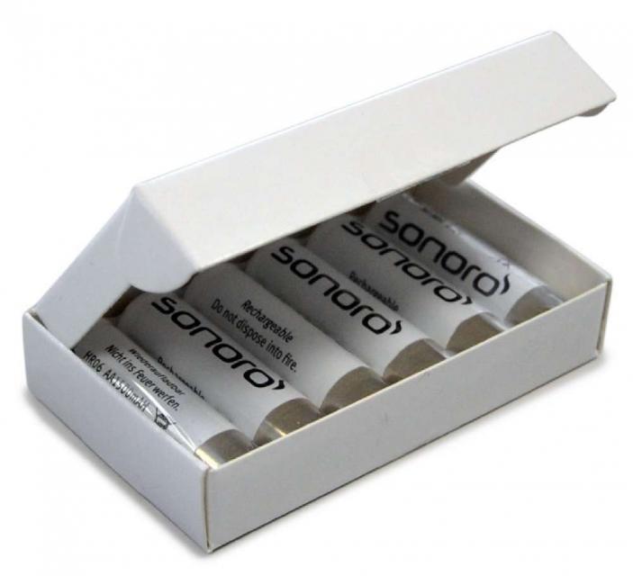 Akkupack mit 6 Akkus für den Sonoro GoLondon